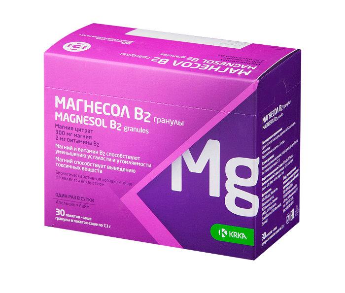 Магнесол - препарат, восполняющий недостаток магния Favoritfarm-magnesol